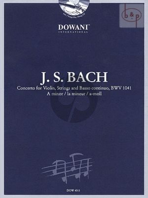 Concerto A minor BWV 1041 (Violin-Piano)