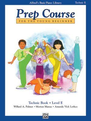 Alfred Prep Course Technic Book Level E