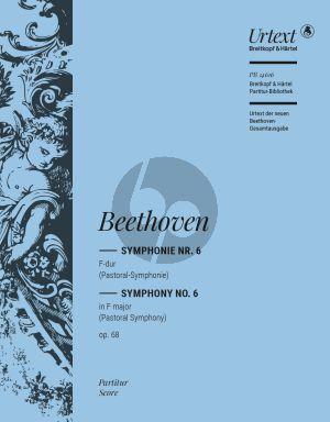 Beethoven Symphonie No. 6 F-dur Opus 68 Partitur (herausgegeben von Jens Dufner)