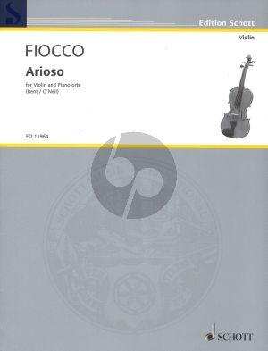 Fiocco Arioso (Bent-O'Neill)