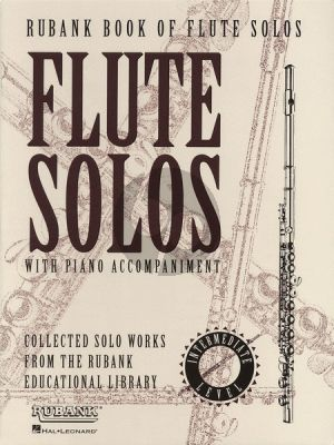 Rubank Book of Flute Solos (with Piano Accomp.) (interm.level)