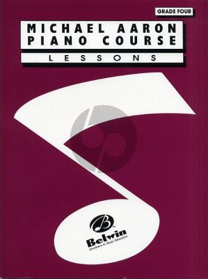 Aaron Piano Course Lessons Grade 4