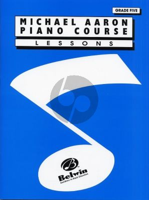 Aaron Piano Course Lessons Grade 5