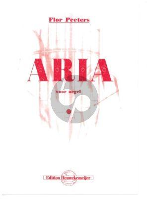 Peeters Aria Opus 51 Orgel