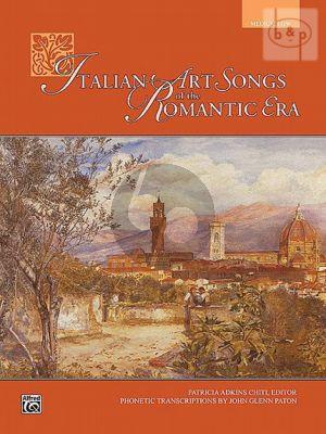 Italian Art Songs Romantic Era (Med.Low)