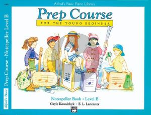 Alfred Prep Course Notespeller Book Level B