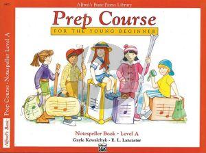 Alfred Prep Course Notespeller Book Level A