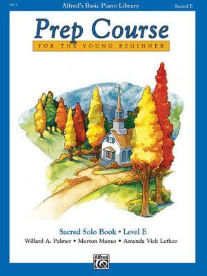 Alfred Prep Course Sacred Solo Book Level E