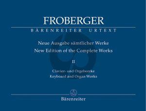 Froberger Samtliche Clavier-Orgelwerke Vol.2 (Neue Ausgabe samtlicher Werke) (Rampe) (Barenreiter-Urtext)