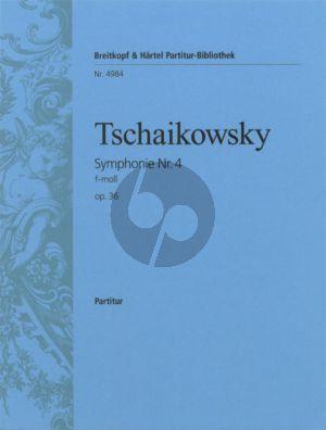 Tchaikovsky Symphonie No.4 f-Minor Op.36 Fullscore