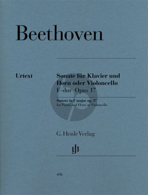 Beethoven Sonate F-dur Op.17 Horn[Violonc.]-Klavier