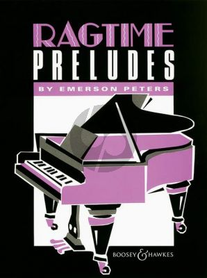 Peters Ragtime Preludes for Piano