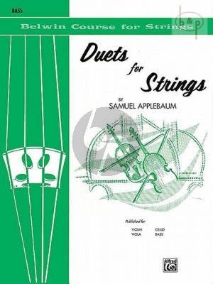 Duets for Strings Vol.1 (Bass)