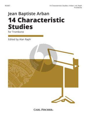 Arban 14 Characteristic Studies for Trombone (edited by Alan Raph)