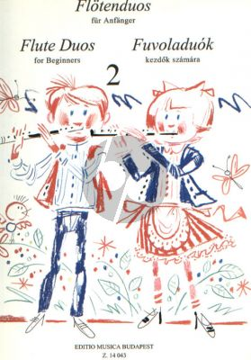Flute Duets for Beginners Vol. 2 (edited by László Csupor)