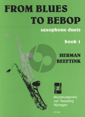 Beeftink From Blues to Bebop Vol.1 2 Saxophones Mixed