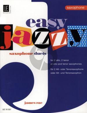 Rae Easy Jazzy Duets 2 Saxophones AA/TT/AT (Grade 1 - 2)