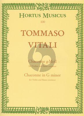Vitali Chaconne (Ciaconna) g-moll (D.Hellmann)