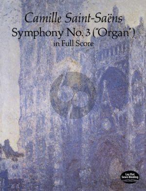 """Symphony no.3 """"Organ"""" Score"""
