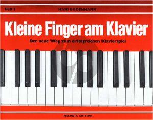 Bodenmann Kleine Finger am Klavier Vol.1 (Der neue Weg zum erfolgreichen Klavierspiel)