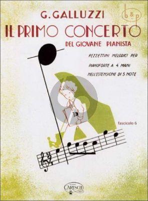 Il Primo Concerto Vol.6 Piano 4 hds