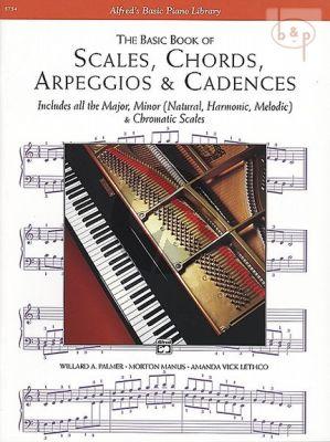 Basic Book Scales-Chords-Arpeggios-Cadences