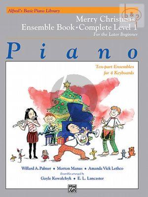Merry Christmas Ensemble Book Complete Level 1