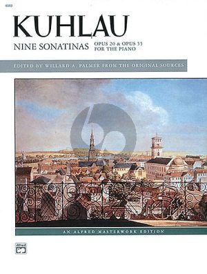 Sonatinas (9) Op.20 & Op.55