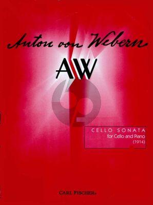 Webern Sonata (1914) Violoncello-Piano