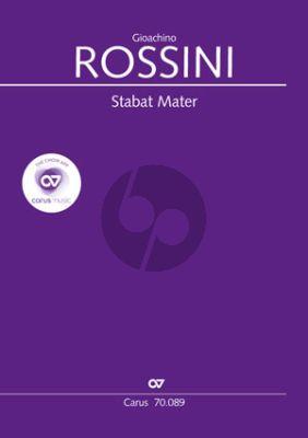 Rossini Stabat Mater Soli-Chor-Orchester Partitur (ed. Klaus Döge)