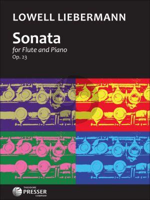 Liebermann Sonata Op.23 Flute-Piano
