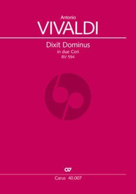 Vivaldi Dixit Dominus (Psalm 109) RV 594 Soli-Chor-Orch.