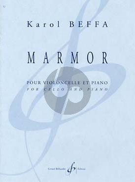 Beffa Marmor Violoncello-Piano