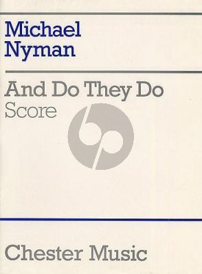 Nyman And Do they Do for Chamber Ensemble (Score)