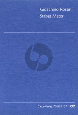 Rossini Stabat Mater Soli-Chor-Orchester Studienpartitur (ed. Klaus Döge)