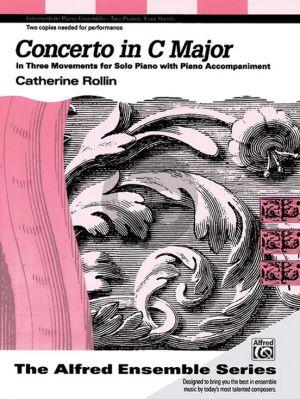 Rollin Concerto C-major in 3 Movements for 2 Piano´s
