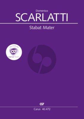 Scarlatti Stabat Mater Coro (Soli) SSSSAATTBB-Bc Score (edited by Robert Scandrett)