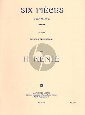 Renie Au Bord du Ruisseau pour Harpe