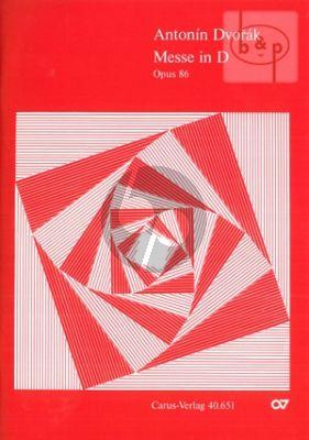 Messe D-dur Op.86 (SATB soli-SATB-Organ)