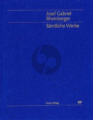 Rheinberger Orgelwerke Vol.1 Sonaten 1 - 10 (LN) (Martin Weyer)
