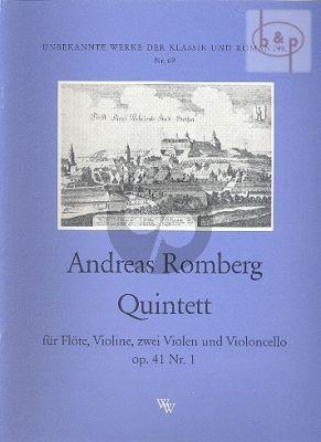 Quintett Op.41 No.1