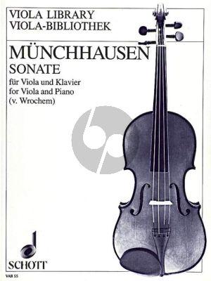Munchhausen Sonate C-dur Op.10 Viola-Klavier (Ulrich von Wrochem)