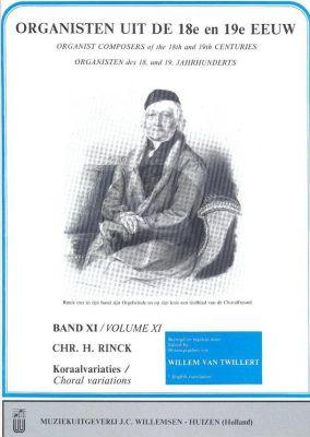 Organisten uit de 18e en 19e Eeuw Vol.11 Rinck Koraalvariaties Vol.4