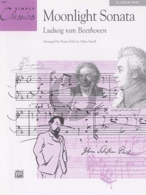 Beethoven Theme Moonlight Sonata for Piano (Simply Classics) (arr. Allan Small)