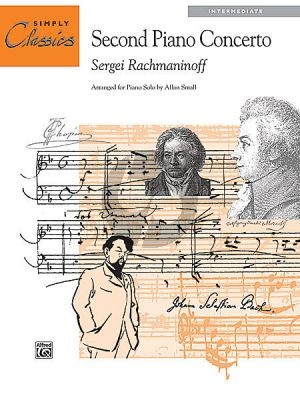 Rachmaninoff Theme 2nd Pianoconcerto (Intermediate) (Simply Classics) (arr. by Alan Small)