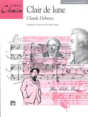 Debussy Clair de Lune (Simply Classic) (Late Elementary)