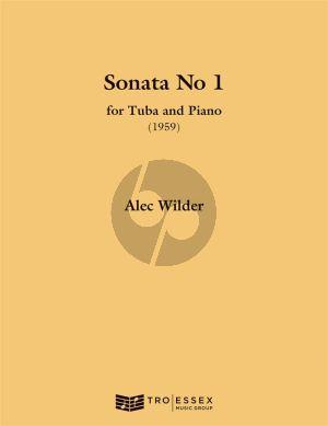 Wilder Sonata for Tuba and Piano (BC) (1959)