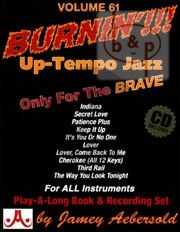 Jazz Improvisation Vol.61 Burnin!!! Up-Tempo Jazz