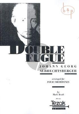 Doppelfugue (4 Trombones)