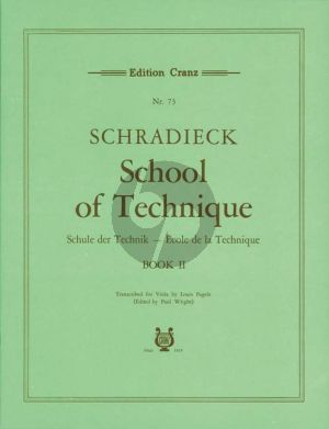 Schradieck Schule der Violatechnik Vol.2 (Louis Pagels/Paul Wright)